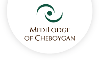 Medilodge of cheboygan web logo
